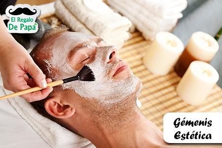 ¡Consiente a Papá! Paga RD$850 en vez RD$1,800 por Limpieza Facial Profunda + Manicura + Pedicura en Gémenis Estética.