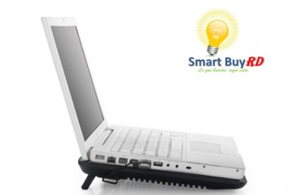 Â¡Que ya no se caliente tu Laptop! Paga RD$650 en vez de RD$1,300 por Disipador de calor para Laptop en Smart Buys.