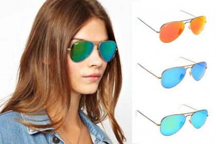 Â¡Protege tus Ojos del Sol! Paga RD$175 en vez de RD$900 por Lentes de Sol tipo Rayban Aviator, varios colores disponibles en Ross Style.