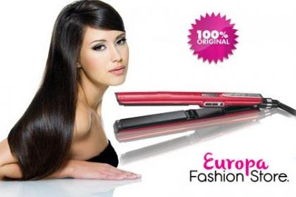 Â¡Lacea tu Cabello! Paga RD$985 en vez de RD$2,490 por Plancha Laceadora de Cabello KLAIME en Europa Fashion Store.