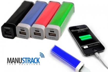¡Cargador Portátil! Aprovecha y Paga RD$395 en vez de RD$850 por Cargador Portátil Power Bank con cable de carga incluido en Manus Track.