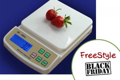 Â¡Precio de Oferta por el BlackFriday! Aprovecha y Paga RD$490 en vez de RD$990 por Balanza Digital, pesa en kg, lb, gramos, onzas en FreeStyle.