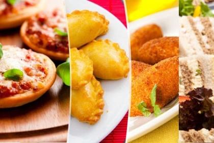 Â¡Para celebrar y compartir! Paga RD$695 en vez de RD$1,500 por 60 Unidades Varias de Picaderas: 15 Croquetas + 15 Empanadas de Pollo Cremoso + 15 Pizzita de Crema de Maiz y Mozzarella + 15 Pinchitos de Embutidos en KI Creativa.