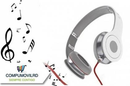 ¡Escucha tu música a todo volumen! Paga RD$299 en vez de RD$895 por unos Auriculares HD marca Selektro en CompumovilRD.