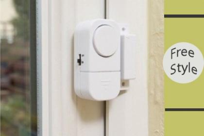 ¡Protege tu hogar! Paga RD$159 en vez de RD$350 por Sistema de alarma inalámbrica para puerta o ventana de casa con sensor magnético en Free Style.